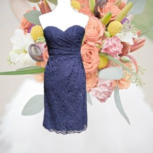 Bridesmaids Dress Sweetheart Neckline Strapless 0